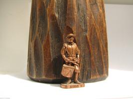 SWISS 2 Kinder Surprise Metal Soldier Figurine Vintage Toy 4 cm Copper F... - $6.88