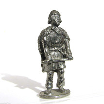 Viking #3 Kinder Surprise Size Metal Soldier Figurine Vintage Toy 4 cm - $6.88