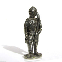 Viking #2 Kinder Surprise Size Metal Soldier Figurine Vintage Toy 4 cm - $6.88