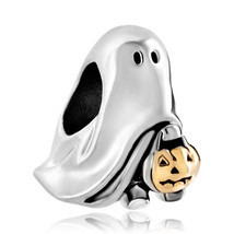 Pugster Jack-o-lantern Weird Halloween Ghost Charms Pumpkin Candy Bead - €10,19 EUR