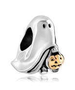 Pugster Jack-o-lantern Weird Halloween Ghost Charms Pumpkin Candy Bead - £9.34 GBP