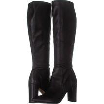Franco Sarto Kolette Knee High Boots 492, Black, 9.5 US / 39.5 EU - $31.67