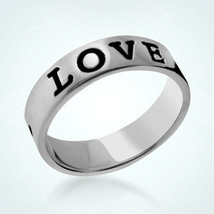 925 Sterling Silver Personalized Friendship Love Ring Customed Rings Gif... - $23.00