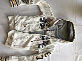 Aeropostale women's/junior's ivory sweatshirt/hoodie size xsmall petite - $17.00