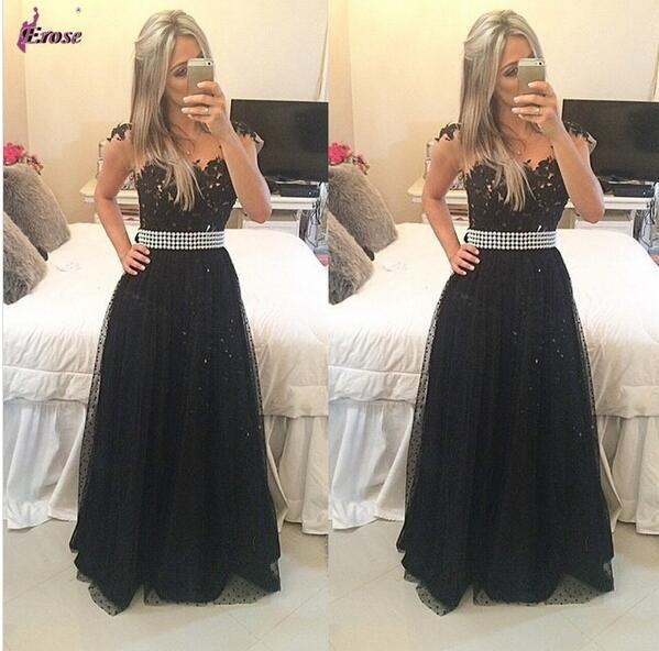 Black Prom Dresses,Charming Prom Dress,Long Prom dress,party prom Dresses