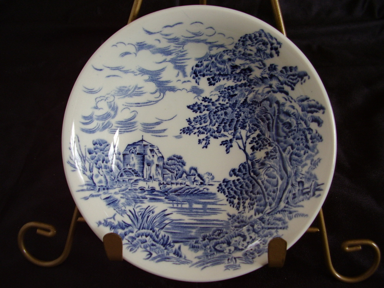 Wedgwood Countryside Blue Berry Dessert Bowl Dish  E