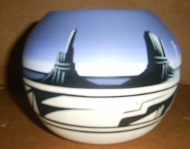 RAINBOW CEDAR MESA POTTERY BOWL SIGNED NANCY L.  DINE 2005 - $64.89