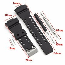 Watch Strap Band With Pins Fits For Casio G Shock 16mm GA-100 G-8900 GW-... - $10.74