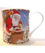 Dunoon Santa Mug Richard Partis Seasons Greetings - $28.00