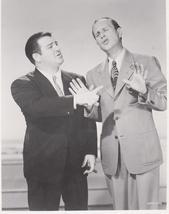 Abbott and Costello Stage EP Vintage 8X10 BW Comedy TV Memorabilia Photo - $6.99