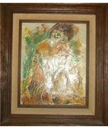 RARE CALVIN WALLER BURNETT SIGNED NUDE OIL PAINTING - $801.90