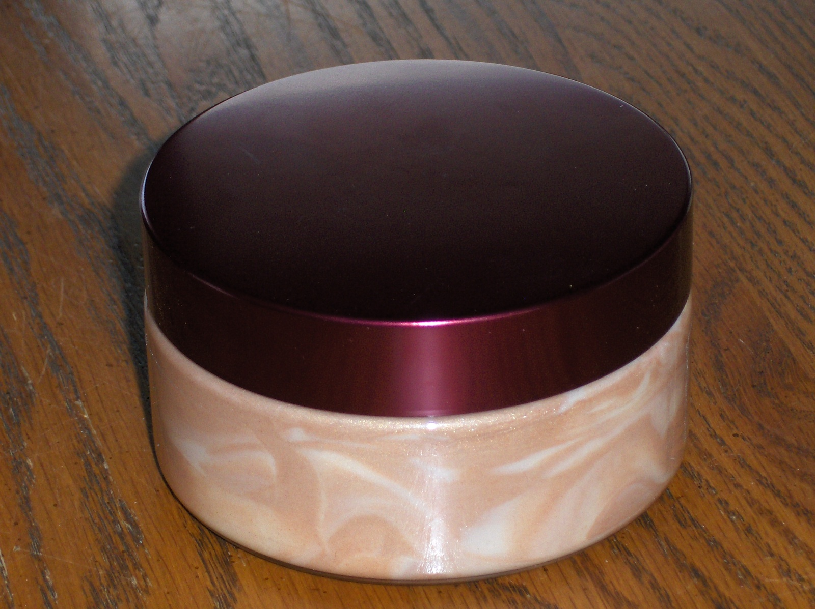 Amber Blush Golden Shimmer Body Souffle Bath & Body Works 8 oz.
