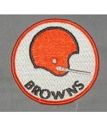 Vintage 70's Cleveland Browns Embroidered Patch - $3.95