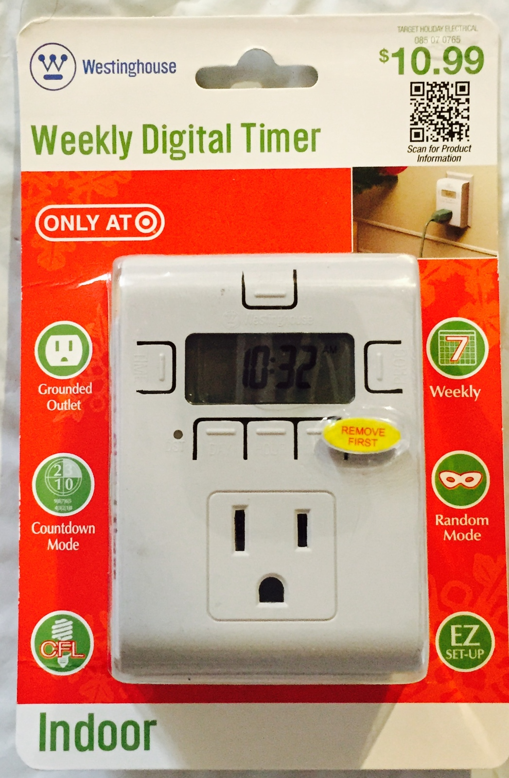 Westinghouse Time Capsules: Westinghouse: Weekly Digital Timer (Indoor) Brand New