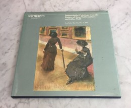 Sothebys NY IMPRESSIONIST Paintings Erna Wolf Dreyfuss May 15 1984 HC Ca... - $24.18