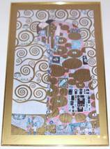 "RARE GUSTAV KLIMT FULFILLMENT ""THE EMBRACE"" AUS... - $435.39"