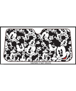 Classic Mickey Mouse Deluxe Car Auto Windshield Sun Shade Sunshade Screen - $24.95