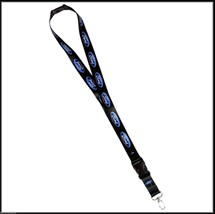 Ford Blue Oval Logo Lanyard ID Badge Holder with Breakaway Clip Keychain - $8.95