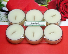 Lovespell (Type) PURE SOY Tea Lights (Set of 6) - $5.00