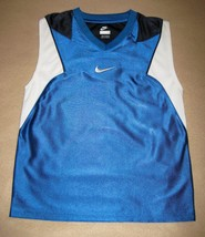 BOYS 6 - Nike - Flight Electric Blue BASKETBALL SPORTS JERSEY - $17.00
