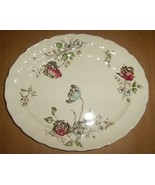 RARE JOHNSON BROS DAY IN JUNE OVAL PLATTER ENGLAND - $65.24