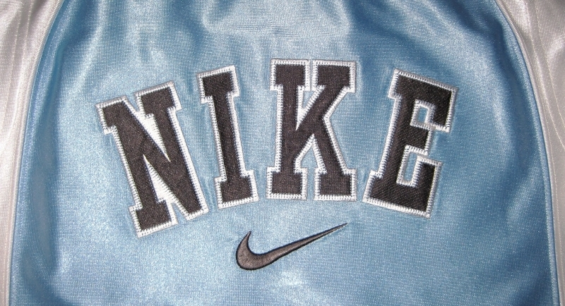 BOYS 7 - Nike - Light Blue-Gray-White BASKETBALL SPORTS JERSEY image 5
