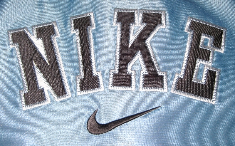 BOYS 7 - Nike - Light Blue-Gray-White BASKETBALL SPORTS JERSEY image 6