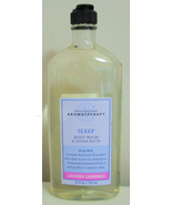 Bath and Body Works New Aromatherapy Lavender Chamomile Body Wash 10 oz - $8.95