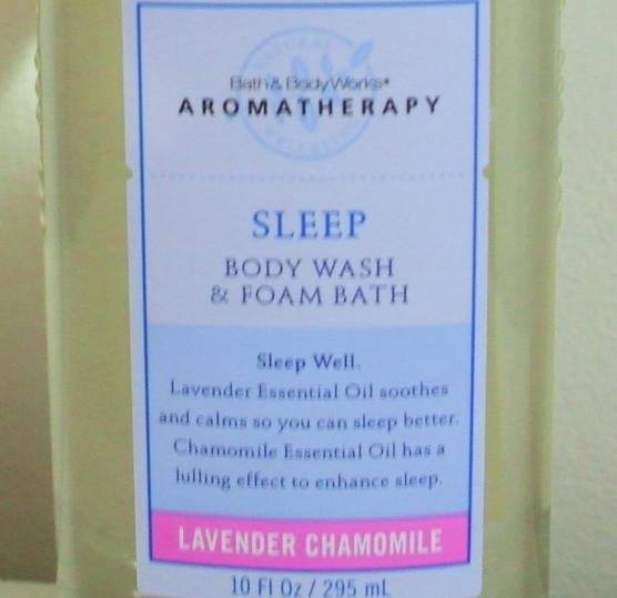 Bath and Body Works New Aromatherapy Lavender Chamomile Body Wash 10 oz