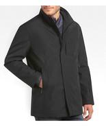 T-Tech Tumi Bonded Rain Classic Coat Mens Black S M $250 - $122.04