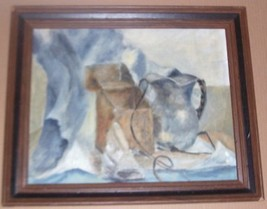 RARE & ORIGINAL MILDRED L. COHN STILL LIFE ART PAINTING - $578.70