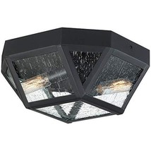 Quoizel QF4060K Montrose Mission Flush Mount Ceiling Lighting, 2-Light, ... - $127.23