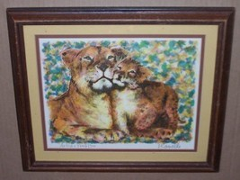 RARE & ORIGINAL PAUL RAVELLE LIONS ARTIST PROOF PRINT - $484.14