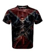 New REBEL Grim Reaper Skull Biker Skeleton Redn... - $26.99 - $32.99