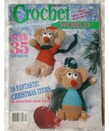 Crochet World, Dec., 1988 -- Back Issue, Volume 11, Number 5, Vintage ma... - $5.00