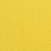 Knoll Upholstery Fabric Felt MCM Canary Yellow Wool 2 yds K12075 QR - $49.40