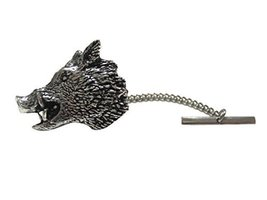 Side Looking Wild Boar Tie Tack [Jewelry] - $29.69