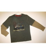 BOYS 7 - Jumping Beans - Off-Road Rescue Layered Look SHIRT - $8.99