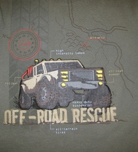 BOYS 7 - Jumping Beans - Off-Road Rescue Layered Look SHIRT image 6