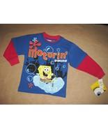 Nickelodeon   motorin  spongebob squarepants long sleeved shirt1 thumbtall