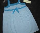 Girls 3t   lucy sykes   aqua   white designer sundress  1  thumb155 crop
