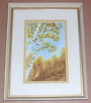 RARE SIGNED 1980 PEGGY SNIDER WATERCOLOR ART PA... - $675.49