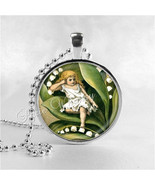 LILY Of The VALLEY Pendant, Thumbelina, Lily of... - $9.95