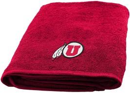 University of Utah Bath Towel Dimensions are 25 x 50 inches - $17.95