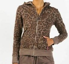 Hard Tail Leopard Zip Hoodie Leoft04 Twig - $120.00