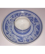 RARE SIGNED HAGE CERAMIC POTTERY ART PLATTER BOWL DISH - $152.64