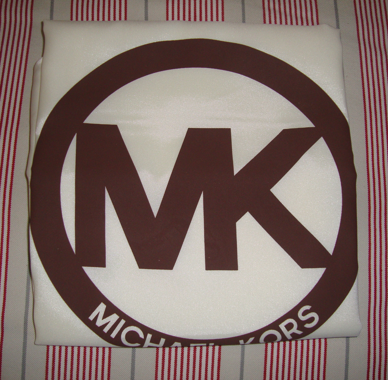"Primary image for Michael Kors Satin Dust Bag Cover (For Handbags) EXTRA LARGE 22"" x 22"" NEW"