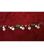 Snowman Christmas Charm Bracelet - $19.99