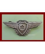 Israel PILOT OLD WINGS Israeli Air force IAF bdu IDF badge Zahal pin - £11.65 GBP