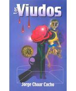 RARE & SIGNED Los Viudos by Jorge Chaar Cacho Novella Puerto Rico - $221.54